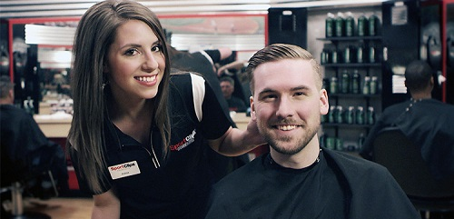 Sport Clips Haircuts of Clarksville​ stylist hair cut